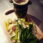 エスティロ・リブレ - 自家栽培の無農薬野菜を使ったバーニャカウダー