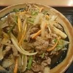 四季彩 - 四季彩 牛肉のスタミナ炒め
