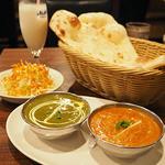 インド・ネパール料理ナマステ - 料理写真:Dセット (これにチキンティッカとシークカバブが付きます)