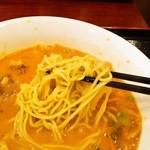 健康中華庵 青蓮 - 麺はこんな感じ