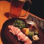 海賊船 - 明後日、北海道出発前に最後の地元呑み〜♪( ´θ`)ノ
