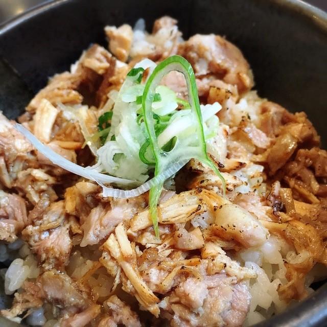 麺屋 史 - あぶり肉ご飯