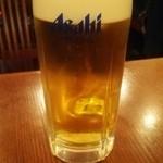 中華飯店 天津餃子房 - ビール