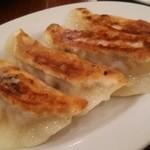 中華飯店 天津餃子房 - 鶏ネギ焼き餃子