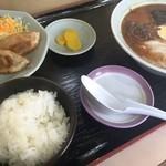 味の龍虎 - 料理写真:ラーメン定食A(850円)