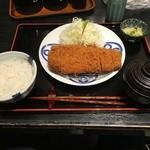 50376660 - 茶美豚ロースかつ膳(1,410円)