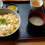 熊福 - 親子丼定食