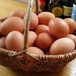 熊福 - 美豊卵が食べ放題♪