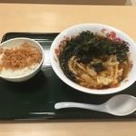 名代 箱根そば - 六会ラーメンと一膳ご飯 ( '16.04)