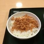 名代 箱根そば -  一膳ご飯¥100( '16.04)