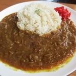 カエデ カフェ - ブラックスパイスカレー@800円