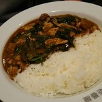 カレーハウスCoCo壱番屋 - チキン煮込みビーフカレープラスほうれん草
