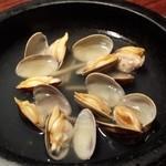 石鍋料理 健 - あさりのスープ