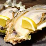 ビオディナミ - 本日の牡蠣。このプリッと感。