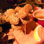 バール タッチョモ - オリーブのフリット¥500