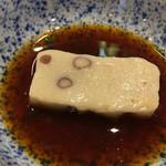 豆水楼 - 小豆入り生麩