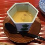豆水楼 - 新緑豆乳蒸し
