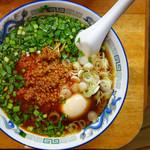 高松 - 台湾そば+味玉
