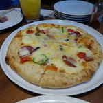 銀座ライオン - ミックスピザ