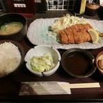 50385291 - ポテサラとんかつ定食820円