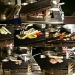 青 AO - 厨房には炭火のロースター 炙られる食材達
