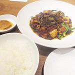 50387566 - 麻婆豆腐と魚沼産コシヒカリ
