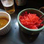 万龍 - 紅生姜とニンニクオイル