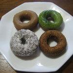 floresta - 塩キャラメル&抹茶ミルキー&アールグレイ&ココナッツチョコ