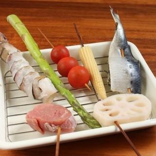 毎朝仕入れ!美味しい新鮮魚介も充実♪