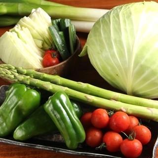 シャキシャキ♪新鮮野菜を各地からお取り寄せ!