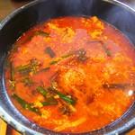 菜々 土古里 - ユッケジャンスープ