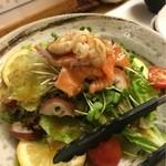 四季菜家・彩 - 海鮮サラダ