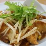 JAZZ麺 2.7 - あんかけ揚げ餃子 550円