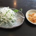 あQ - 前菜と漬物