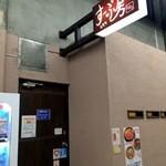 すーぷ房くだら - こちらはモトコー3商店街側からの入り口です