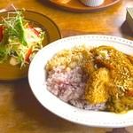 農カフェhakari - サラダ付き