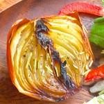 農カフェhakari - タマネギの丸焼き