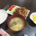 川 - 料理写真:焼肉定食500円