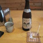 風和里 - ビール580円