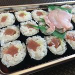 みはし寿司 - 料理写真:160430 てっか巻