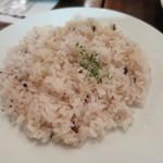 カブトスカフェ - 重五穀米ライス