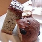 50403085 - フォカッチャとナッツのパン