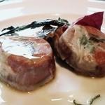 チンギアーレ - メイン②京都豚ヘレ肉のサルティンボッカ 白ワインソース