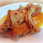 50403364 - 大人気 牛ハチノス「甘辛」見た目以上に柔らかく美味い!
