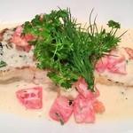ラ・ベルデ - 真鯛のグリル 香草クリームソース