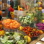 シャンゼリゼ - 料理写真:女性に嬉しい☆野菜ソムリエ認定レストランならではのサラダコーナー