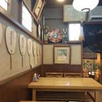 いづ松 - 店内の様子です2016.4撮影