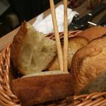 ダルマット - パン3種