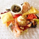 ヴィア デル サーレ - ランチの前菜色々