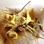 ヴィア デル サーレ - 干し草の香りのアニョロッティ
